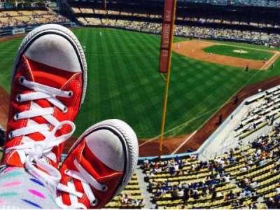 Dodger Stadium, section: Way, row: Up, seat: High