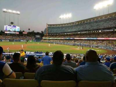 Dodger Stadium, section: 19FD, row: U, seat: 4