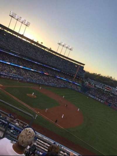 DODGER STADIUM section 28RS