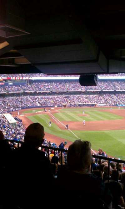 Miller Park section standing room only