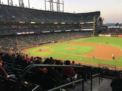 AT&T Park, section: 205, row: J, seat: 16