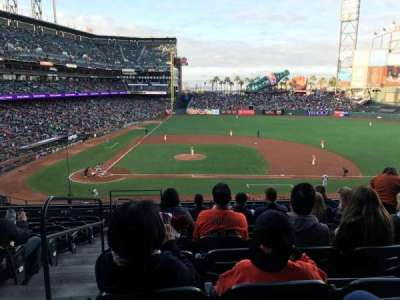 AT&T Park, section: 209, row: H, seat: 16