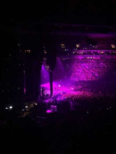 Wells Fargo Center, section: Club Box 23, row: 3, seat: 1