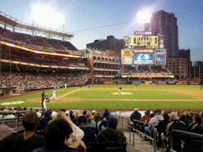 PETCO Park, section: 105, row: 21