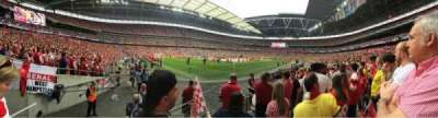 Wembley Stadium, section: 128, row: 6, seat: 182