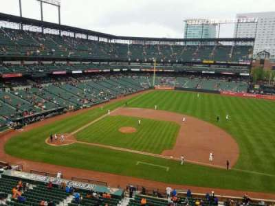 Oriole Park at Camden Yards, section: 320, row: 1, seat: 11