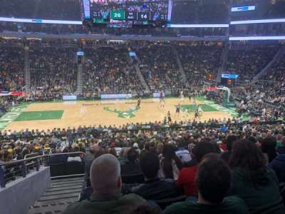 Seat View Reviews From Fiserv Forum Home Of Milwaukee
