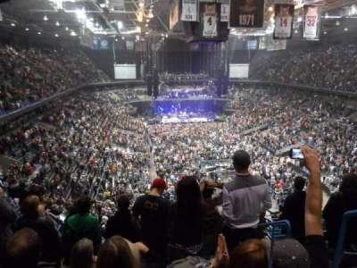 BMO Harris Bradley Center, section: 413, row: M, seat: 4