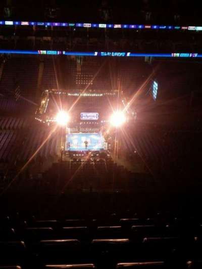 The O2 Arena, section: 419, row: S