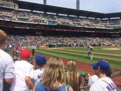 PNC Park, section: 9, row: D, seat: 6