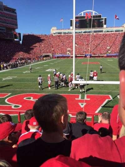 Memorial Stadium, section: 16, row: 6, seat: 15