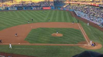 Dodger Stadium, section: 11RS, row: E, seat: 10