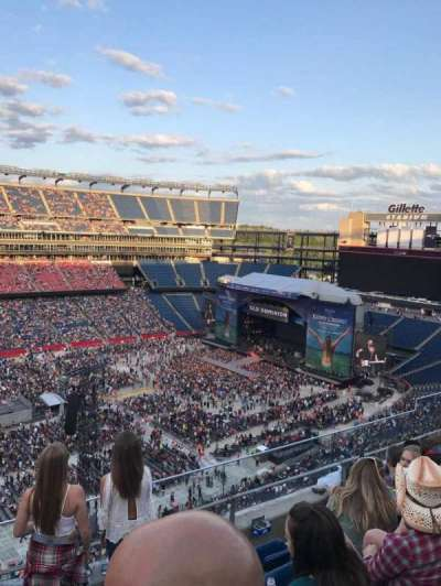 Gillette Stadium, section: 335, row: 5