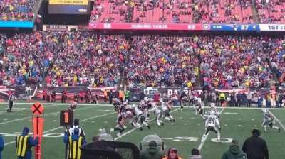 Gillette Stadium, section: 113, row: 4, seat: 12