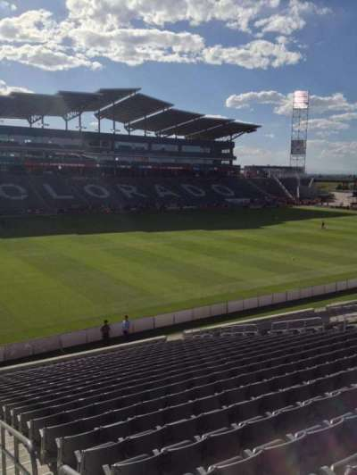 Dick's Sporting Goods Park, section: 112, row: 25, seat: 1