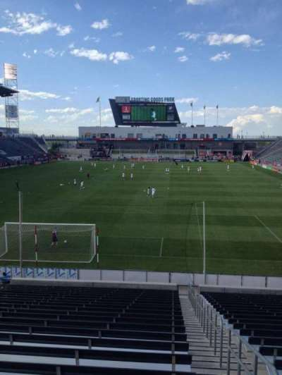 Dick's Sporting Goods Park, section: 117, row: 24, seat: 1