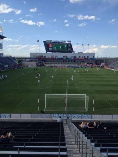 Dick's Sporting Goods Park, section: 118, row: 23, seat: 1