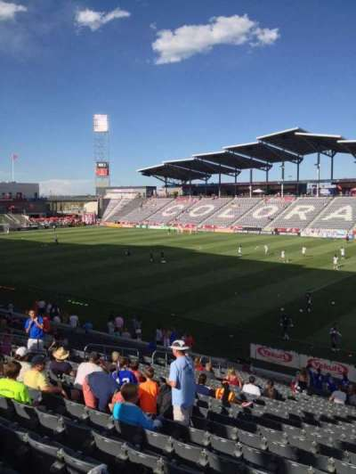 Dick's Sporting Goods Park, section: 124, row: 24, seat: 1