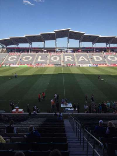 Dick's Sporting Goods Park, section: 129, row: 24, seat: 1