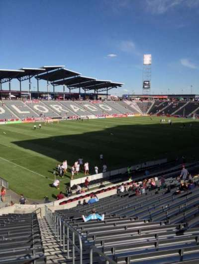 Dick's Sporting Goods Park, section: 135, row: 26, seat: 1