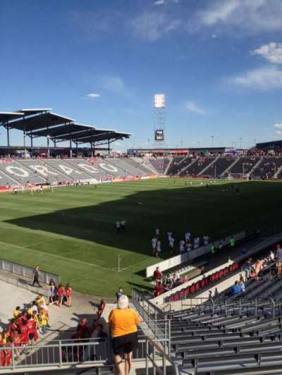 Dick's Sporting Goods Park, section: 136, row: 25, seat: 1