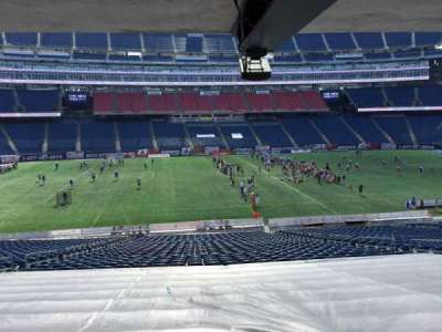 Gillette Stadium section 111