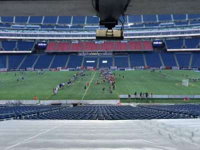 Gillette Stadium section 109