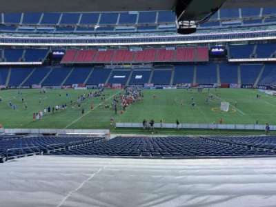 Gillette Stadium section 108