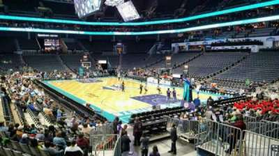 Spectrum Center, section: 111, row: O, seat: 12