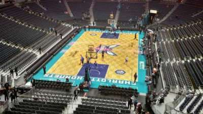 Spectrum Center, section: 217, row: A1, seat: 1