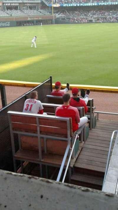 SunTrust Park, section: 144, row: 9, seat: 1