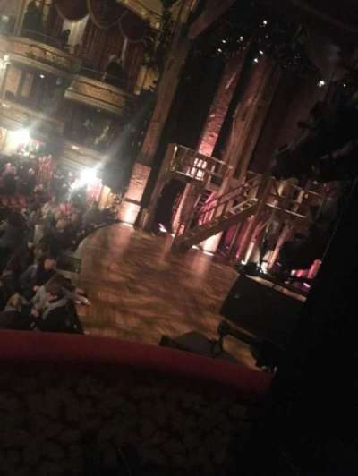 Richard Rodgers Theatre, section: Box, row: Second, seat: Middle