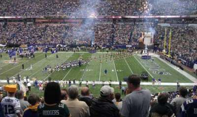 Mall of America Field, section: 131