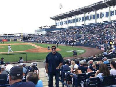 George M. Steinbrenner Field, section: 115, row: II, seat: 1