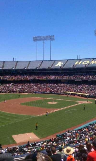 Oakland Alameda Coliseum, section: 228, row: 9, seat: 1