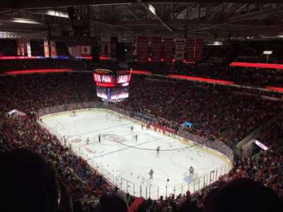 PNC Arena, section: 318, row: F, seat: 9