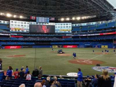 Rogers Centre, section: 123L, row: 15, seat: 101
