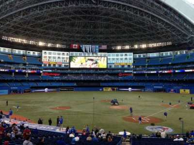 Rogers Centre, section: 122R, row: 33, seat: 2