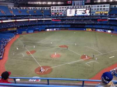 Rogers Centre, section: 523R, row: 2, seat: 7