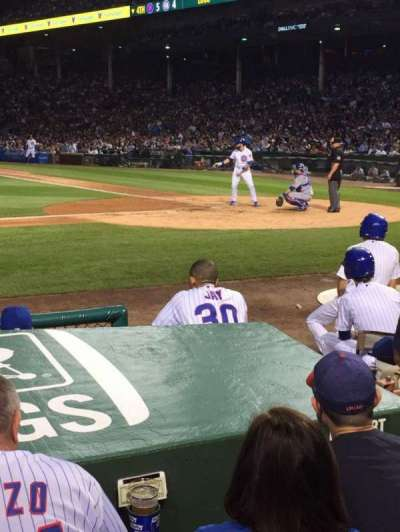 Wrigley Field, section: 15, row: 3, seat: 104