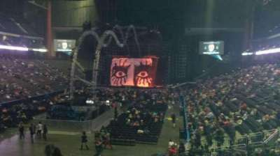 Jacksonville Veterans Memorial Arena, section: 107, row: T, seat: 21