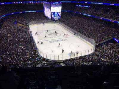 Amalie Arena, section: 325, row: G, seat: 8