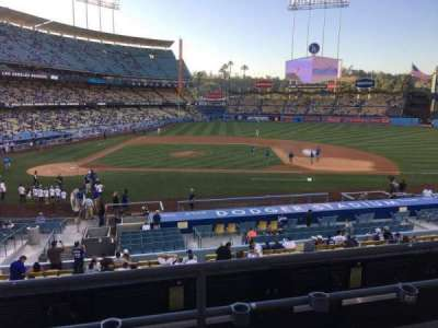 Dodger Stadium, section: 128LG, row: C, seat: 7