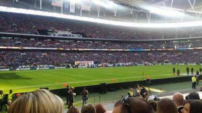 Wembley Stadium, section: 105, row: 15, seat: 73