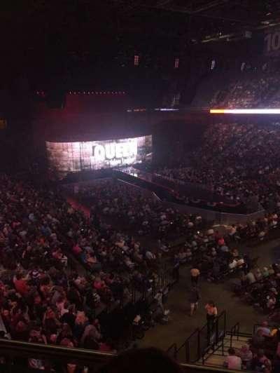 Mohegan Sun Arena, section: 115, row: B, seat: 8