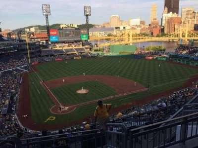 PNC Park, section: 313, row: L, seat: 13