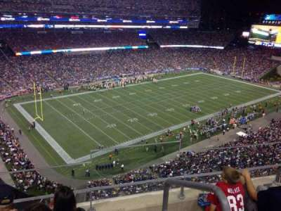 Gillette Stadium section 315