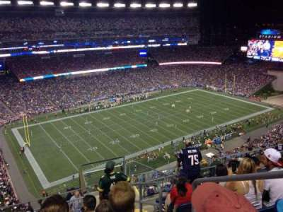 Gillette Stadium section 314