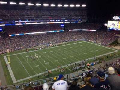 Gillette Stadium section 313