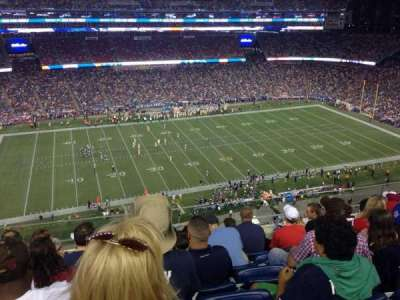 Gillette Stadium section 311